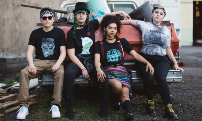Homeless and LGBTQ youth are the masterminds behind this rad t-shirt company