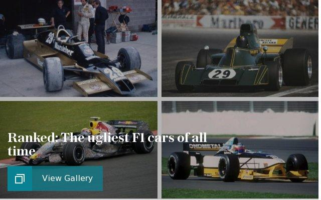 Ranked: The ugliest F1 cars of all time
