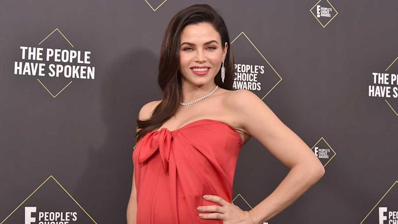 Jenna Dewan Glows on the Red Carpet While Cradling Her Baby Bump: Pics!