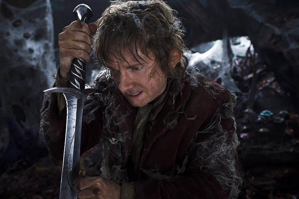 MARTIN FREEMAN as the Hobbit Bilbo Baggins in New Line Cinema?s and Metro-Goldwyn-Mayer's fantasy adventure ?THE HOBBIT: THE DESOLATION OF SMAUG,? a Warner Bros. Pictures release.