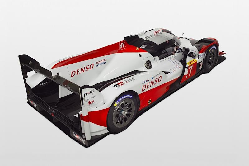 Front-end changes for Toyota's WEC LMP1 car