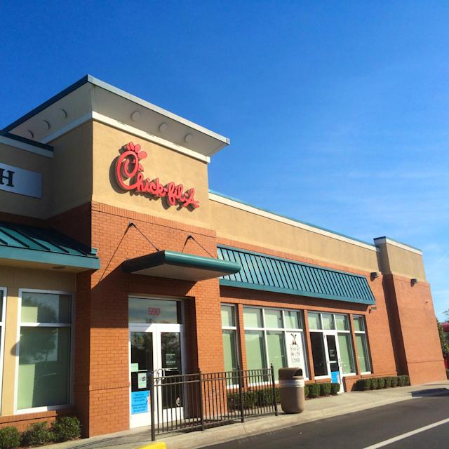Chick fil-A has previously been linked to anti-LGBTQ views. (Photo: Diane Macdonald/Getty Images)