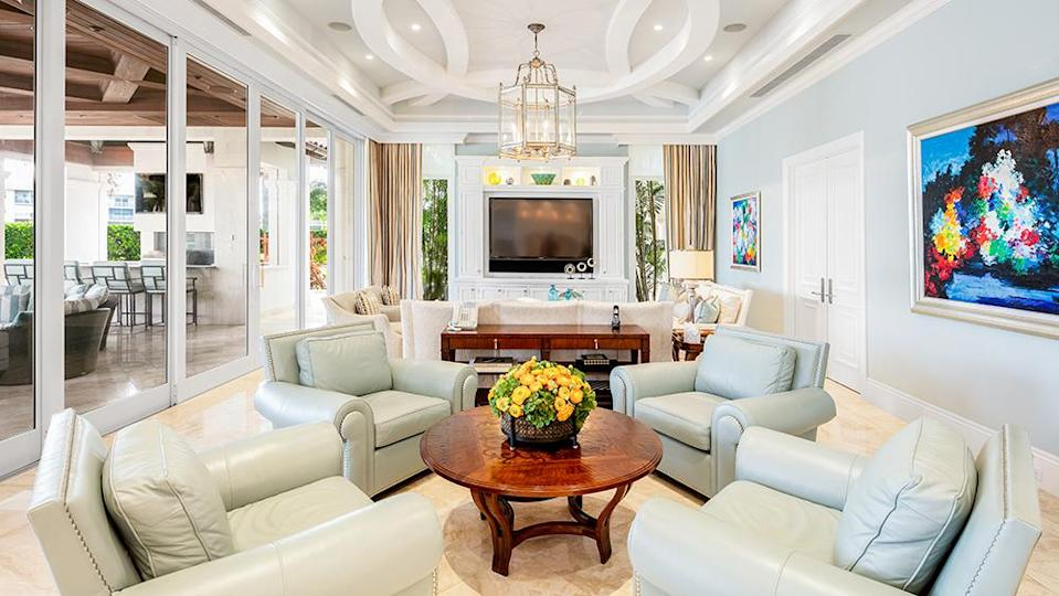 The living room - Credit: Photo: Courtesy of The Carroll Group