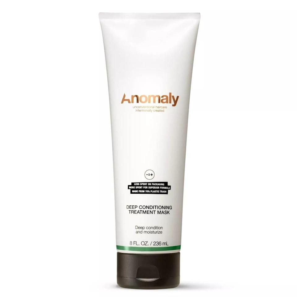 <p>The <span>Anomaly Deep Conditioning Treatment Mask</span> ($6) contains castor-seed oil and avocado-seed oil. It has a thick and rich consistency, but once you work it in, the hair mask feels lightweight and isn't heavy and dense like a cream or butter. I let the mask sit in my hair for 10 minutes. After rinsing my hair, it felt very moisturized and deeply conditioned. There was some weight to my hair. However, it felt more like my hair had absorbed all the nutrients and moisture from the mask rather than like there was product buildup.</p>