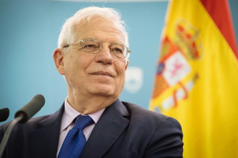 Spain's Foreign Minister Josep Borrell says the country needs to 'dedicate much more energy, time an resources' to talking up its achievements in the face of criticism