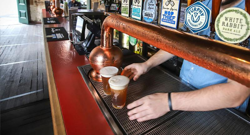 Pubs in NSW could be open in weeks. Source: AAP
