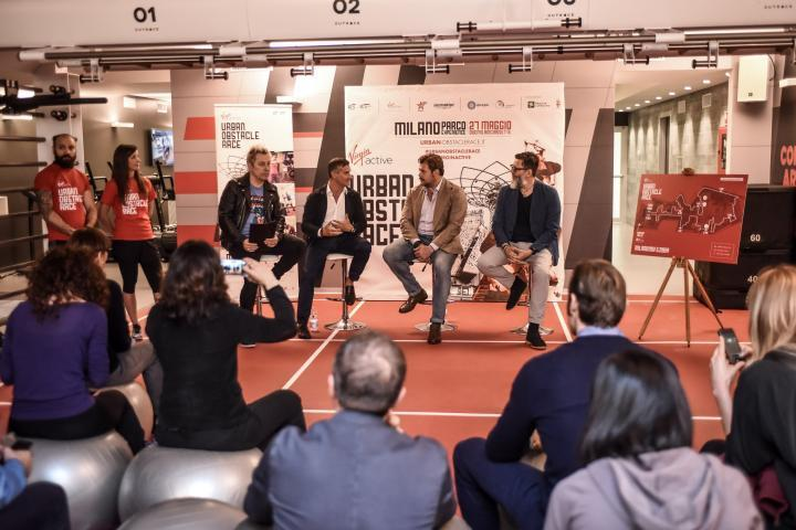 Conferenza stampa Urban Obstacle Race a Milano