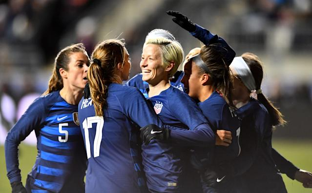 U.S. Soccer seems more willing than it has in the past to work with the women's national team and resolve their disagreements. (Getty)