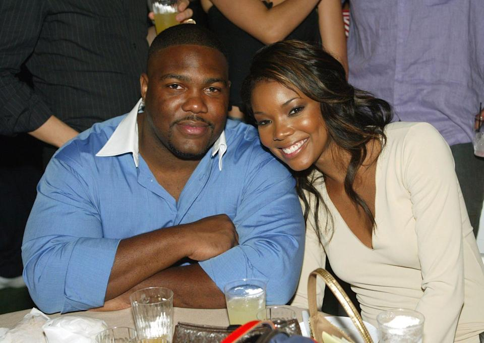 """<p>You might not know this, but Union (an actress, activist, and author) was married to NFL star Chris Howard for four years in the early 2000s. According to <a href=""""https://people.com/celebrity/gabrielle-union-husband-split/"""" rel=""""nofollow noopener"""" target=""""_blank"""" data-ylk=""""slk:People"""" class=""""link rapid-noclick-resp""""><em>People</em></a>, the couple met at a party in 1999, got married in 2001, and divorced four years later.</p>"""
