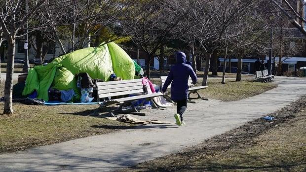 According to Toronto's most recent survey, Indigenous people accounted for 16% of Toronto's homeless population. (Paul Smith/CBC - image credit)