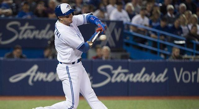 The Toronto Blue Jays are showing a severe aversion to big-time fastballs so far. (Nathan Denette/CP)