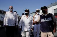 Mexican ship with humanitarian aid arrives in Havana