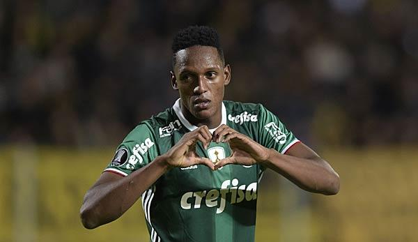 International: Palmeiras-Boss: Barca will Yerry Mina im Winter