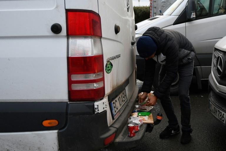 Romanian drivers thought to carry food with them