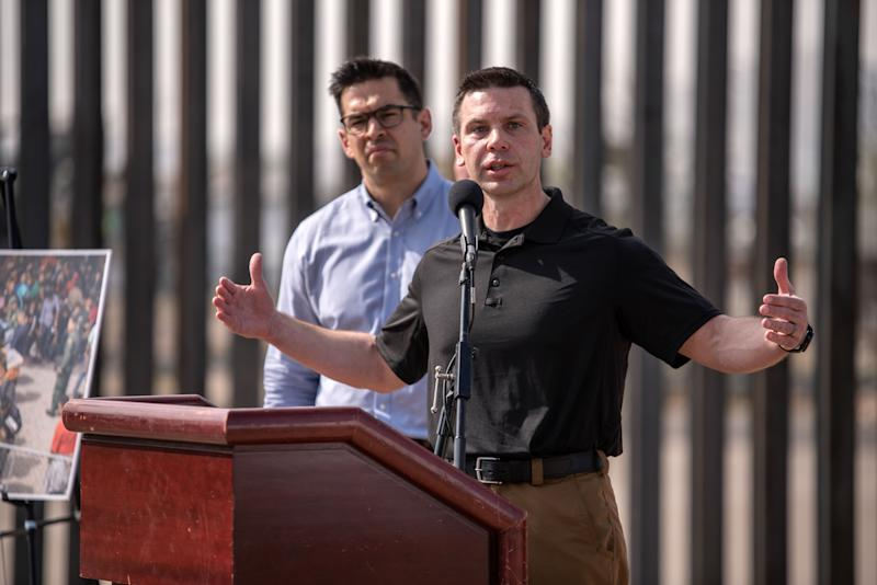 Kevin McAleenan, the commissioner of U.S. Customs and Border Protection. (Photo: Sergio Flores for the Washington Post via Getty Images)