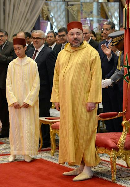 Morocco's new constitution curbed, some, but not all, of King Mohammed VI's near absolute powers (AFP Photo/Fadel Senna)