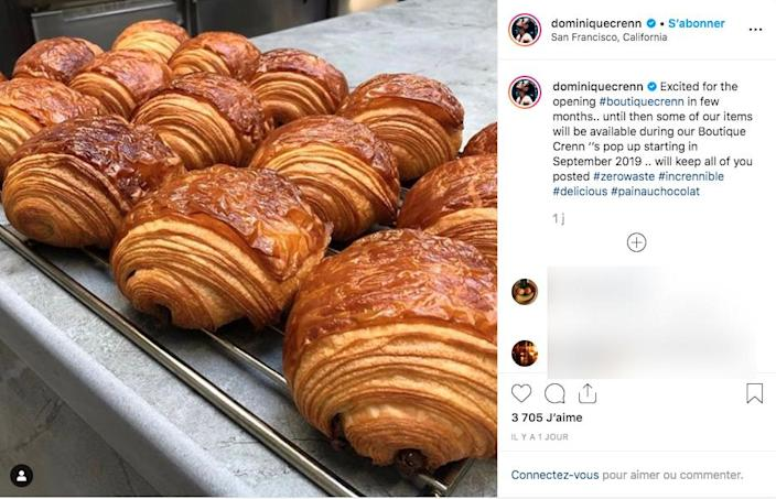 Dominique Crenn has announced the opening of a bakery and pastry shop.