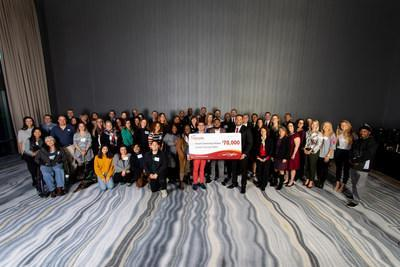 Sycuan Casino Resort presented $70K to 21 different charities during its 2019 Holiday Gift Giving Ceremony.