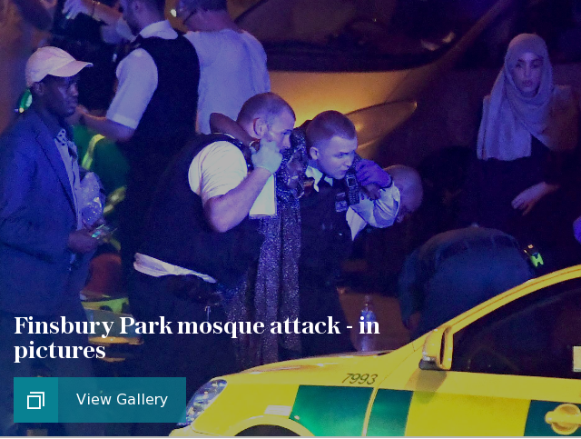 Finsbury Park mosque tragedy in pictures
