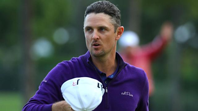Justin Rose and Tiger Woods are tied for second, one shot behind the leader, heading into the final round of the Valspar Championship.