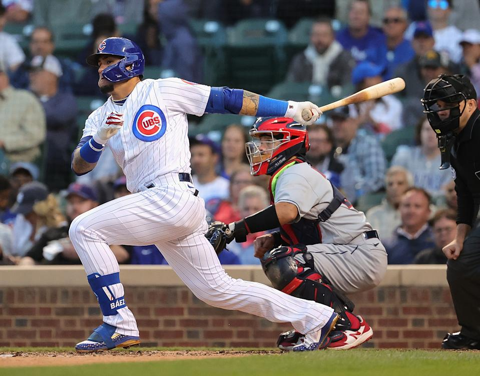 Javier Baez of the Chicago Cubs