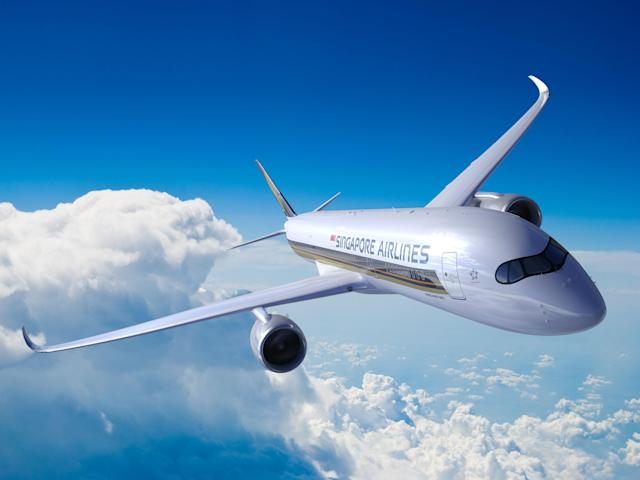 An A350. (Photo: Singapore Airlines)