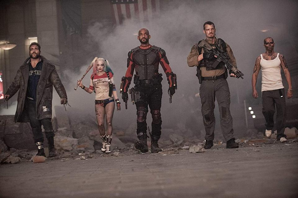 The cast of 2016's Suicide Squad