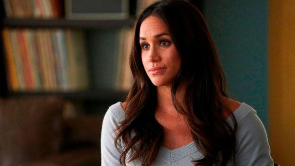 PHOTO: In this file image released by USA Network, Meghan Markle appears in a scene from 'Suits.' (Ian Watson/USA Network via AP, File)