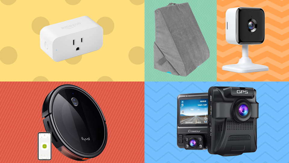 Pick a box, any box, and score up to 65 percent off top-rated robovacs, smart home plugs, wedge pillows and more. (Photo: Amazon)