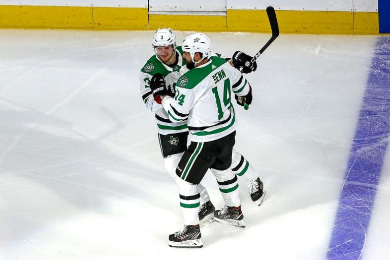 Stars shut out top-seeded Golden Knights in NHL series opener
