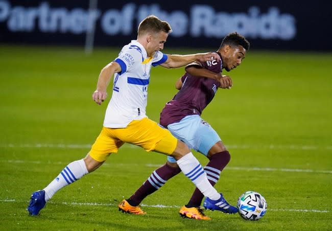 19-year-old Bassett, Lewis help Rapids beat Earthquakes 5-0