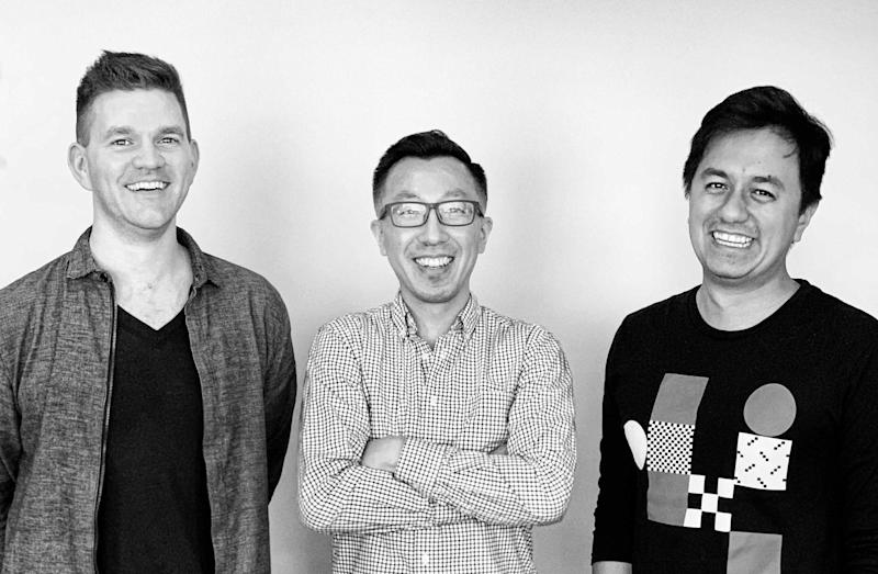 MonogMonograph founders Alex Dixon, Robert Yuen and and Moe Amaya