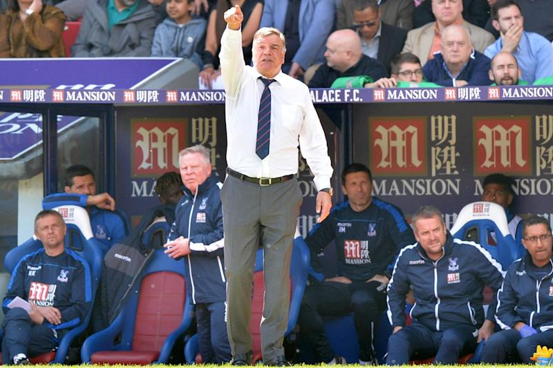 "Allardyce quit Palace in May and said he had ""no ambitions to take another job"": AFP/Getty Images"