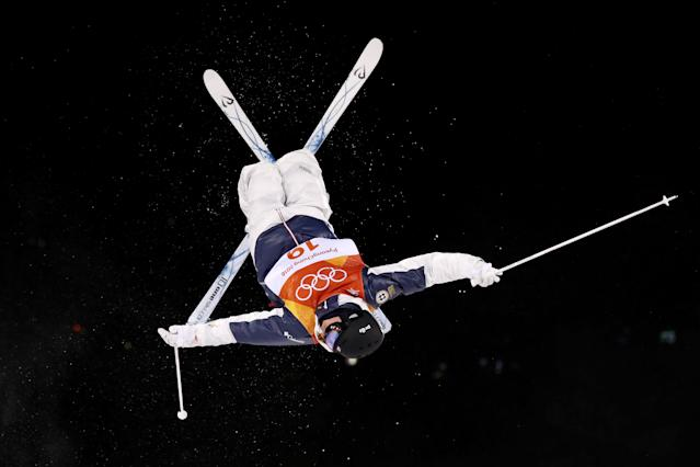 <p>Casey Andringa of the United States competes in the Freestyle Skiing Men's Moguls Qualification on day three of the PyeongChang 2018 Winter Olympic Games at Phoenix Snow Park on February 12, 2018 in Pyeongchang-gun, South Korea. (Photo by Cameron Spencer/Getty Images) </p>