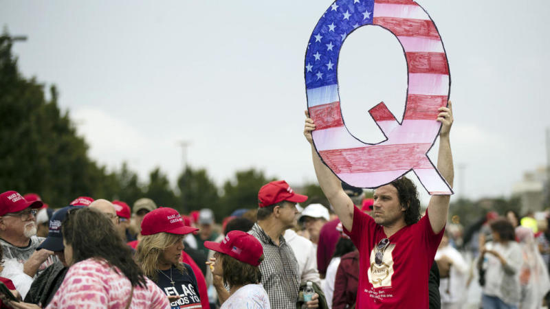 Behind the QAnon conspiracy movement are 'people looking for answers'
