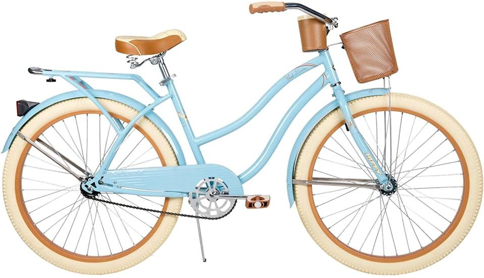 """<p>Say yes to this cute <span>Huffy 26"""" Nel Lusso Cruiser Bike</span> ($275, originally $288).</p>"""