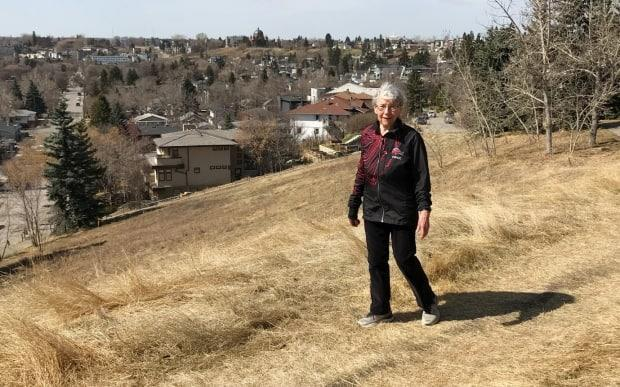 Jean MacNaughton, 87, has walked 10,000 steps each day for an entire year — hitting the milestone of 365 days on the same day she got her second COVID-19 vaccination. (Submitted by Jean MacNaughton - image credit)
