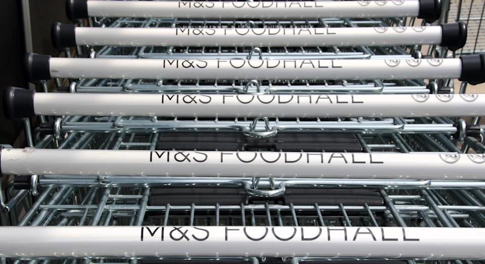 Marks & Spencer has launched a home food delivery service (Getty Images)