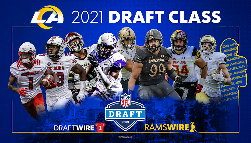 Rams announce rookie jersey numbers: Tutu Atwell to wear 15 ...