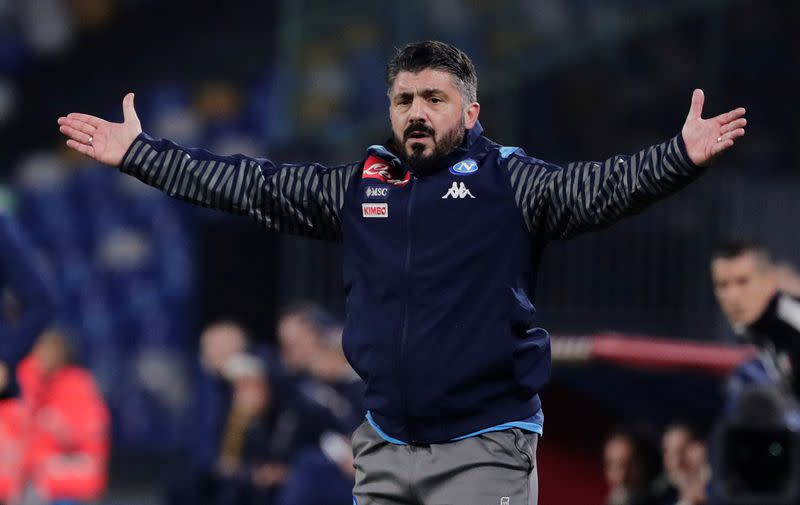 Nightmare debut for Gattuso as Napoli suffer late loss to Parma
