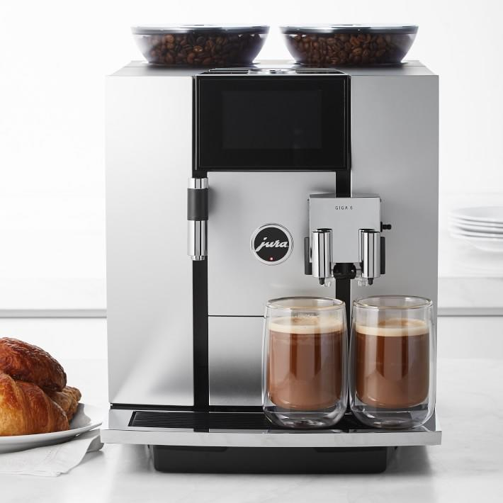 """<p>Sure, it's a splurge, but having this super-deluxe automatic espresso and coffee maker—which is equipped with three brew temperature levels, ten coffee strength levels, and ten milk/milk foam temperature levels—on your kitchen counter means you can make any type of coffee drink your heart desires. And you can do it with the power and speed of a barista-perfect, professional machine. Plus, the touchscreen menu offers 28 preprogrammed drinks, from cappuccino to a latte macchiato, prepares coffee and milk foam at the same time, and identifies every java drinker's preferences. It doesn't get much better than that.</p> <p><strong><em>Buy Now</em></strong><em>: Jura GIGA 6 Fully Automatic Espresso & Coffee Machine, $5,995, <a href=""""https://williams-sonoma.pdy5.net/c/249354/265127/4291?subId1=MSLBrewingPerfectionOurShoppableGuidetotheBestCoffeeMakersvspence2FooGal7987783202009I&u=https%3A%2F%2Fwww.williams-sonoma.com%2Fproducts%2Fjura-giga-6-fully-automatic-espresso-machine%2F%3Fpkey%3Dcelectrics-jura%26amp%3Bisx%3D0.0.823"""" rel=""""nofollow noopener"""" target=""""_blank"""" data-ylk=""""slk:williams-sonoma.com"""" class=""""link rapid-noclick-resp"""">williams-sonoma.com</a>.</em></p>"""
