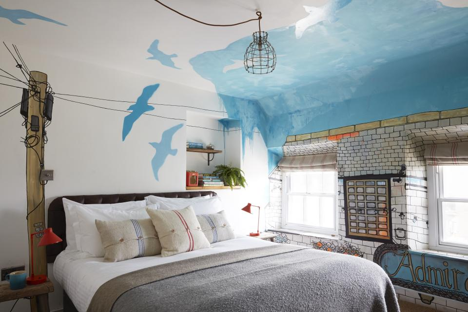 Stay in the quirky interiors at the Artist Residence. [Photo: The Artist Residence]