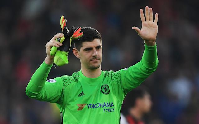 Thibaut Courtois missed Chelsea's defeat at Manchester United with an ankle injury - Getty Images Europe