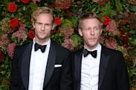 Jack Fox and Laurence Fox attending the Evening Standard Theatre Awards 2018 at the Theatre Royal, Drury Lane in Covent Garden, London. Restrictions: Editorial Use Only. Photo credit should read: Doug Peters/EMPICS