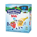 """<p>These just-sweet-enough yogurt packs really brought us back to our childhood. The flavors are natural and understated, and the yogurt is creamy and substantial. Honestly, we'd bring these to work in a heartbeat.</p><p><strong><em><a class=""""link rapid-noclick-resp"""" href=""""https://go.redirectingat.com?id=74968X1596630&url=https%3A%2F%2Fwww.freshdirect.com%2Fpdp.jsp%3FproductId%3Ddai_pid_2002375%26catId%3Dpicks_stonyfield_favorites_2&sref=https%3A%2F%2Fwww.redbookmag.com%2Ffood-recipes%2Fg35433697%2Fbest-store-bought-yogurt-brands%2F"""" rel=""""nofollow noopener"""" target=""""_blank"""" data-ylk=""""slk:BUY NOW"""">BUY NOW</a> Stonyfield Organic Kids Yogurt, $5, freshdirect.com</em></strong></p>"""