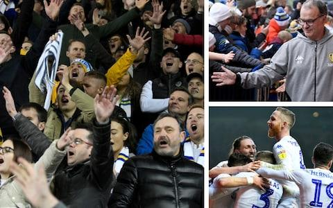 Leeds United supporters are reconnecting with their club - Credit: getty images