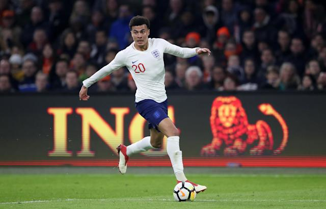 <p>Dele Alli<br> Age 22<br> Caps 23<br>Goals 2<br>Has not always been at his scintillating best this season but still contributed 14 goals in all competitions for Spurs. His instinctive relationship with Harry Kane is a precious resource in the final third and his footwork in tight spaces around the box is unmatched in the squad.<br>Key stat: This was the first season Alli did not reach double figures for Premier League goals, though he still managed nine with 10 assists. </p>