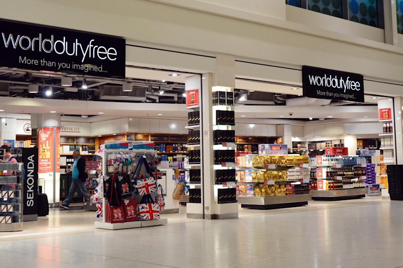 World Duty Free at Heathrow Airport: Getty Images/iStock/Maxian