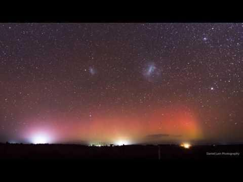 <p>The only thing that could beat a beautiful vista of aurora australis is a bright meteor shower making a sudden appearance.</p><p>Photographer Daniel Lam captured this stunning timelapse footage of a meteor shower streaking across the skies of Nile, Tasmania, on June 16 as the southern lights remained in the backdrop. Credit: Daniel Lam via Storyful</p>