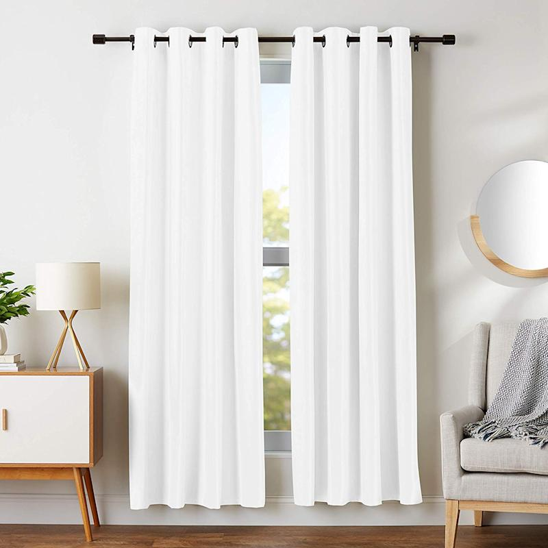 No need to play peek-a-boo with the neighbors! These blackout curtains promise privacy. (Photo: Amazon)